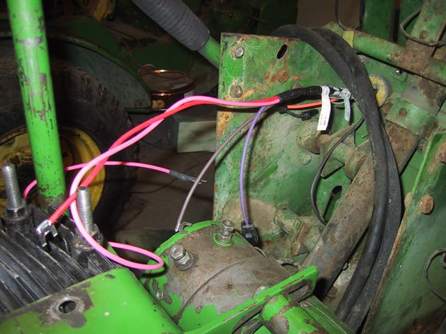 electrical problem mytractorforum com the friendliest tractor John Deere 110 Wiring Diagram there should be two wires connected to it, connected to the two posts you can see in the picture below john deere 110 wiring diagram