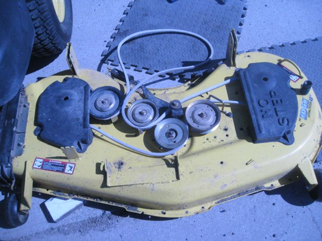 Argh! Blade changing woes on z425... - MyTractorForum.com - The ...