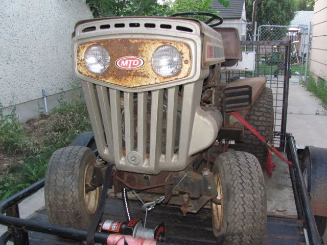16 Mtd Tractor : Older mtd how do i tell what ve got mytractorforum